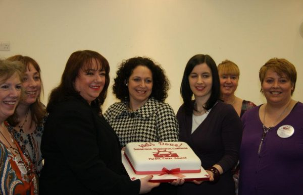 Sunderland MPs helping us celebrate our 5th birthday in 2012